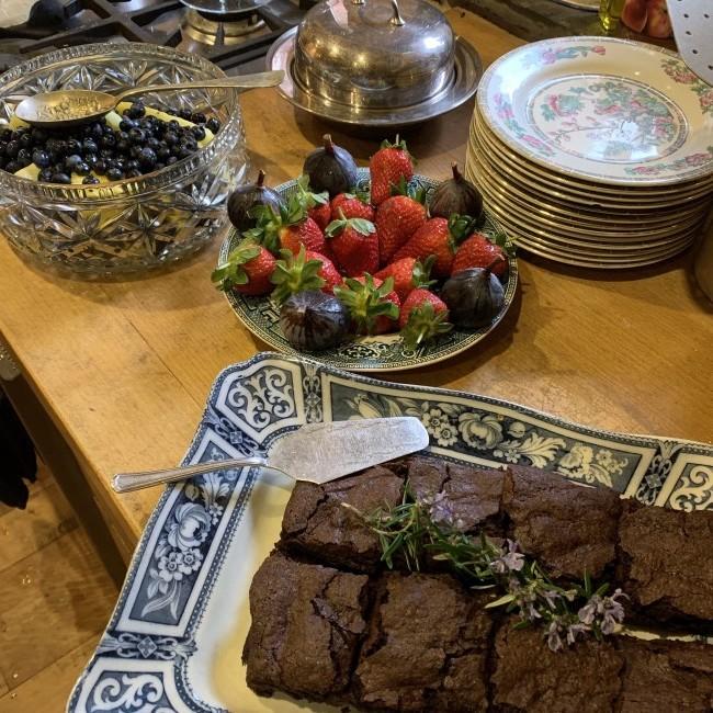 STICKY BUCKWHEAT CHOCOLATE BROWNIES (VEGAN, GLUTEN FREE)